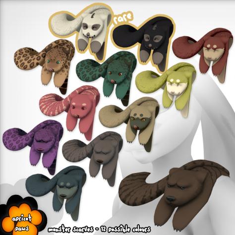 Gacha Items_ Apricot Paws
