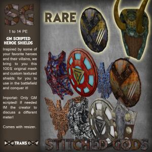 [Stitched Gods] Gatcha_ Shields