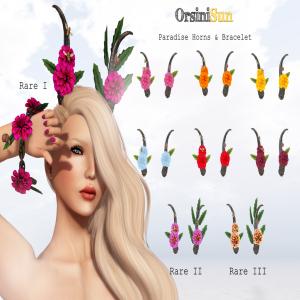 OrsiniSun Paradise Horns & Bracelet