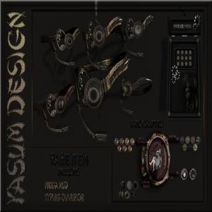 Steampunk Goggles Cover 1