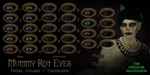 The Stringer Mausoleum - FGCO - Mummy Rot Eyes - Chart
