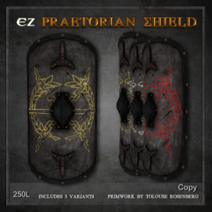 EZ Praetorian Shield