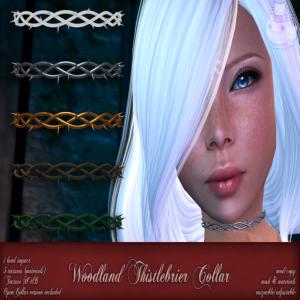 c( TC ) Woodland Thistlebrier Collar poster