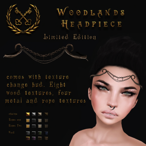 [Keystone] Woodlands Headpiece