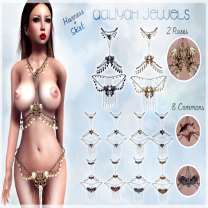LUAS AALIYAH JEWELS Skirt and Harness