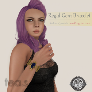 [tea.s] Regal Gem Bracelet AD